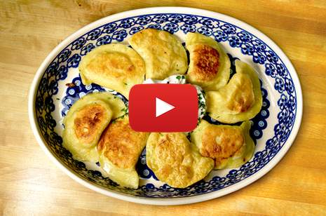 Polish Chef makes pierogi